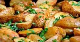 Ofenkartoffeln mit frischen Kräutern