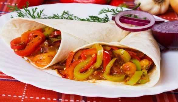 Vegane Tortillas aus Weizenmehl
