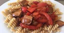 Veganer Gulasch