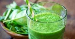 Grüner Frühstücks Smoothie