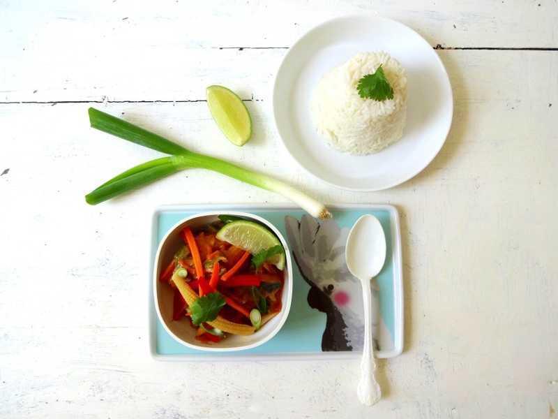 Veganes Thai-Curry