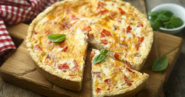 Vegane Tomaten Quiche